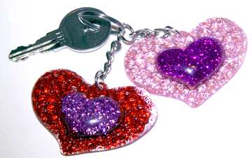 Two hearts and key  №3417