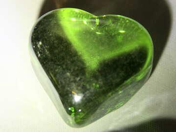 Smaragd Herz №3672