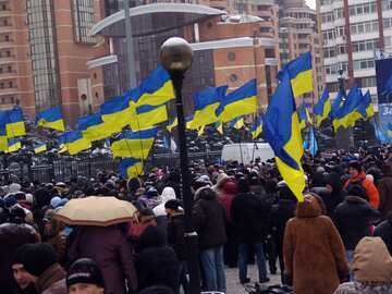 Rally in support of Yanukovych №3555