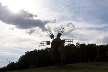 Vintage  windmill №3160