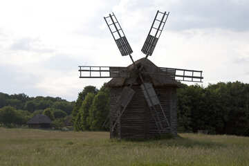 Wooden windmill №3283