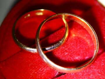Обручальные кольца №3654
