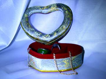 Casket for jewelry №3626