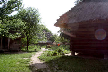 Russisch Weinlese Haus №3130