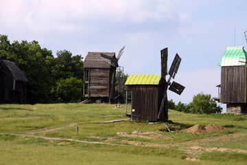 Windmills  №3118