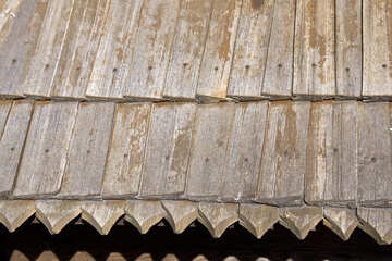 Tiles made of wood. texture . №3155