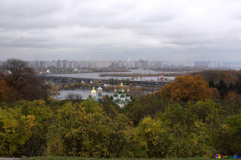 Видубецький монастир восени №3329