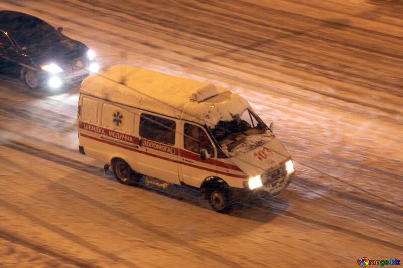 Ambulancia se apresura llamar  №3475