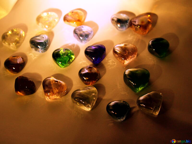 Hearts of glass. Background. №3661