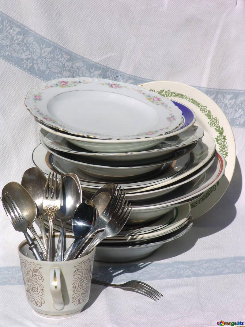 картинка гора посуды хочу