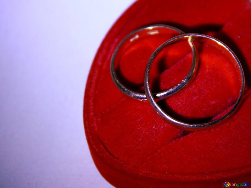 Eheringe symbol von verbindung ring № 3653