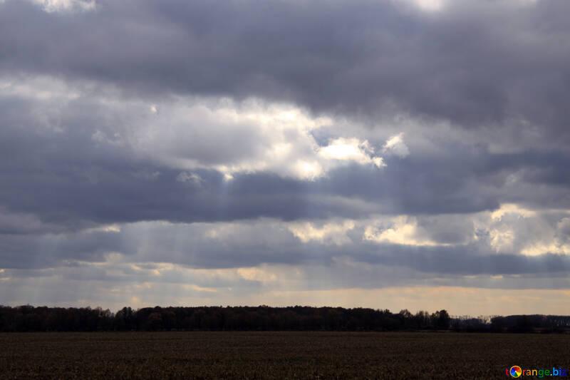 Autumn Clouds №3525