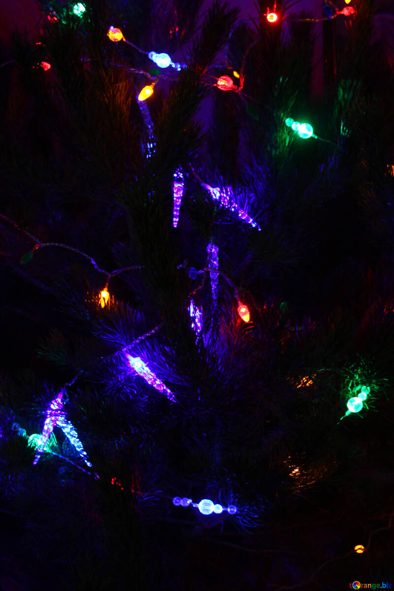 Garlands of Christmas tree №3946