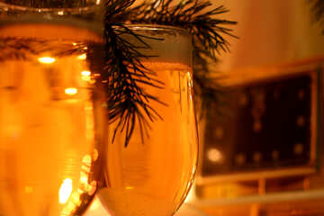 New year`s champagne №30976