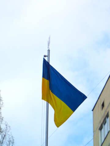 The Flag Of Ukraine №30425