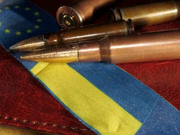 Gönner und die Flagge der Ukraine №30476