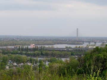 Bridges across Dnieper in Kyiv №30585