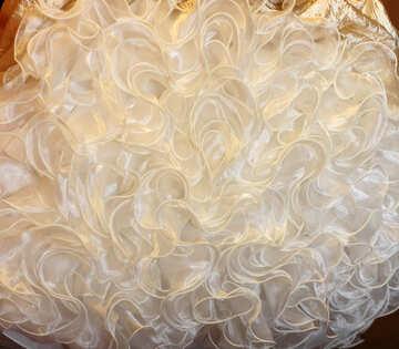Fluffy dress №30410