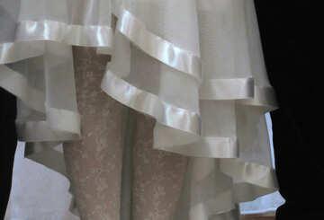 Hem dress №30404