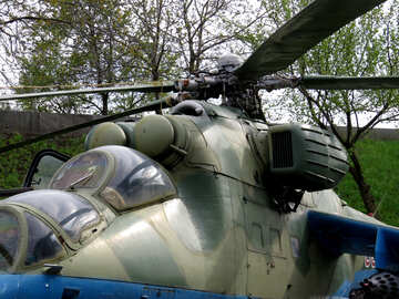 Military helicopter №30720