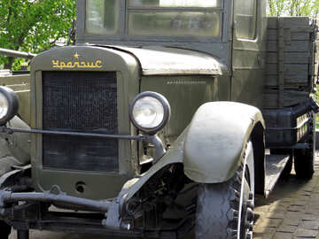 A military truck of the second world war the USSR №30644