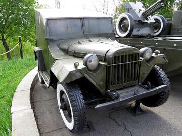 Military automobile GAZ 67B Jeep Ww2 USSR №30650