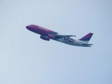 Wizz air passenger aircraft №30708
