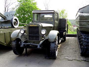 Truck WWII USSR №30643