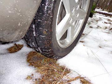 Summer Tyre in winter №30834