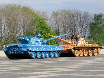 Peaceful tanks №30601