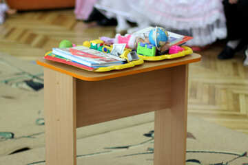 Children`s play table №30407