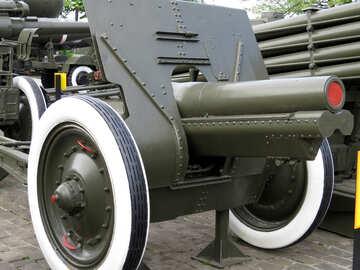 Soviet 122 mm gun of the second world war the USSR №30668