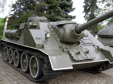 Self-propelled gun №30694