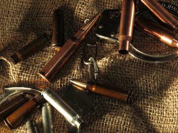 Арест за незаконное хранение оружия №30544