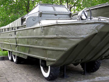 Amphibious armored car №30635