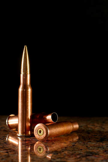 Bullets and cartridge cases  №30465
