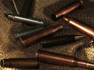 Bullets and cartridge cases №30557