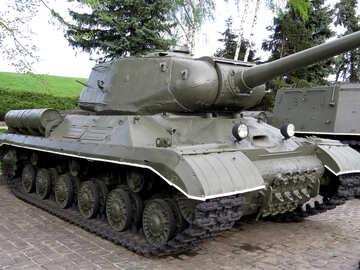 Soviet tank IS-1 №30701