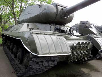 A Soviet tank №30678
