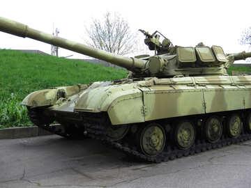A Soviet tank №30724