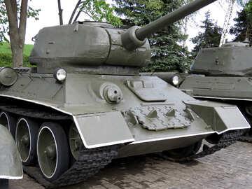 Soviet tank t-34 №30707