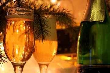 Christmas wine №30979