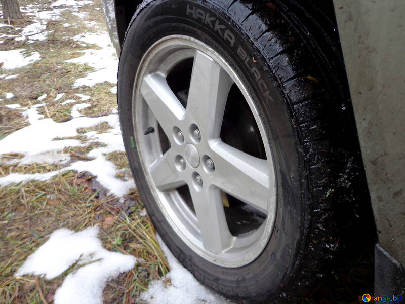 Summer tires in the winter №30844