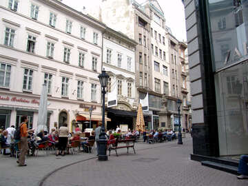 Outdoor cafes in Budapest №31924