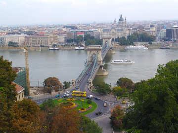 Bridge in Budapest №31960