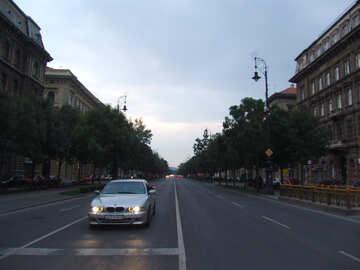 Straßen in Budapest №31888