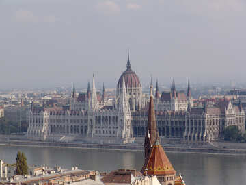 The Hungarian Parliament in Budapest №31985