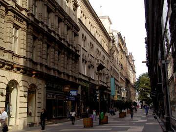 Pedestrian street №31932