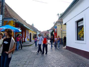 Turistas en Hungría №31783