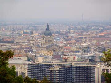 Panorama Of Budapest Hungary №31933